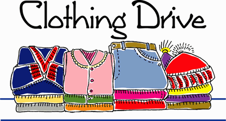 Clothing Drive - Beginning April 17th